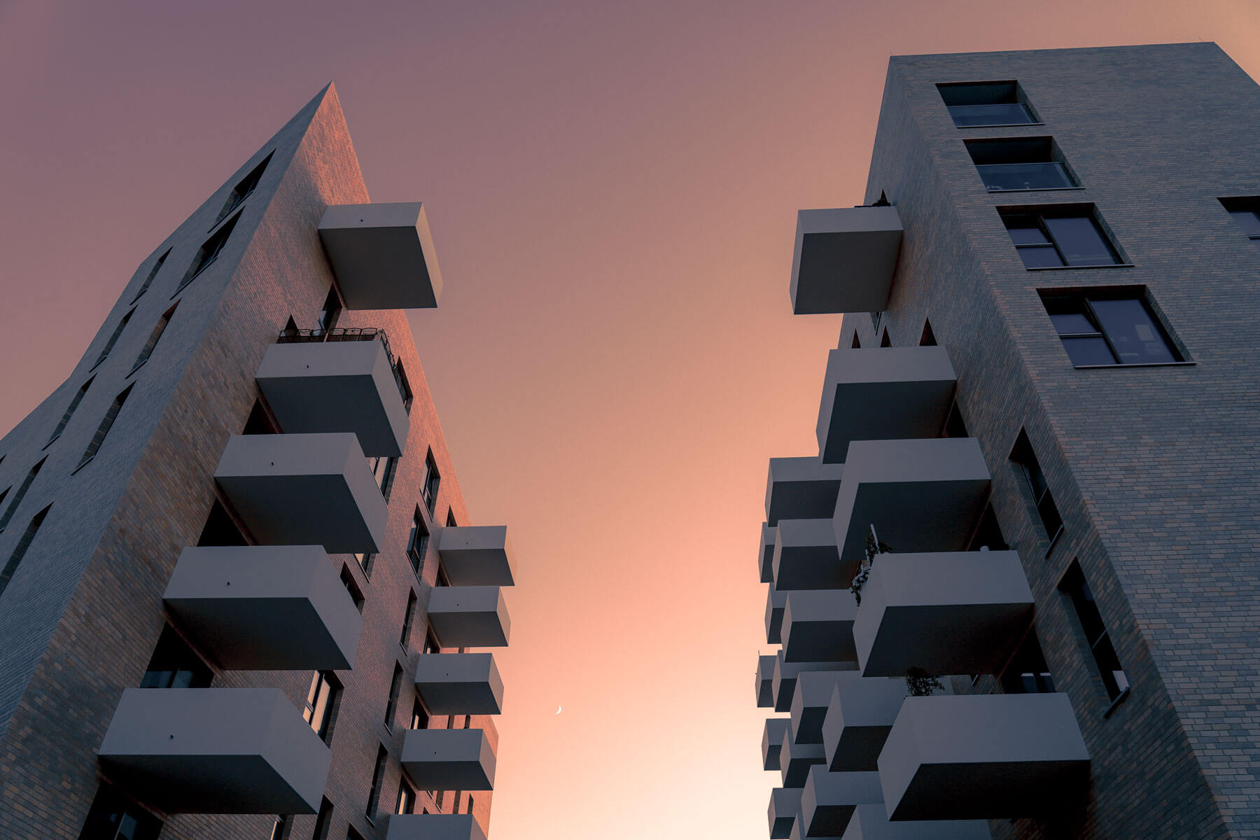 architektur-sonnenuntergang-rosa-mond